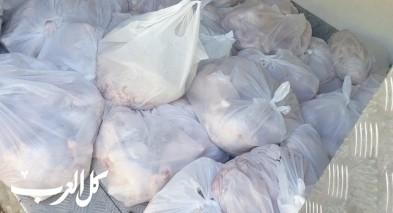 توقيف شاب من ابو سنان بشبهة نقل 300 كجم من الدجاج