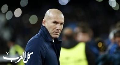 اصابة زيدان مدرب ريال مدريد بالكورونا