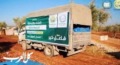 فيديو-طواقم جمعية الإغاثة 48 في إدلب تعمل على مدار الساعة