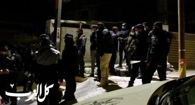 الشرطة تداهم طرعان وتعتقل 145 مشتبهًا