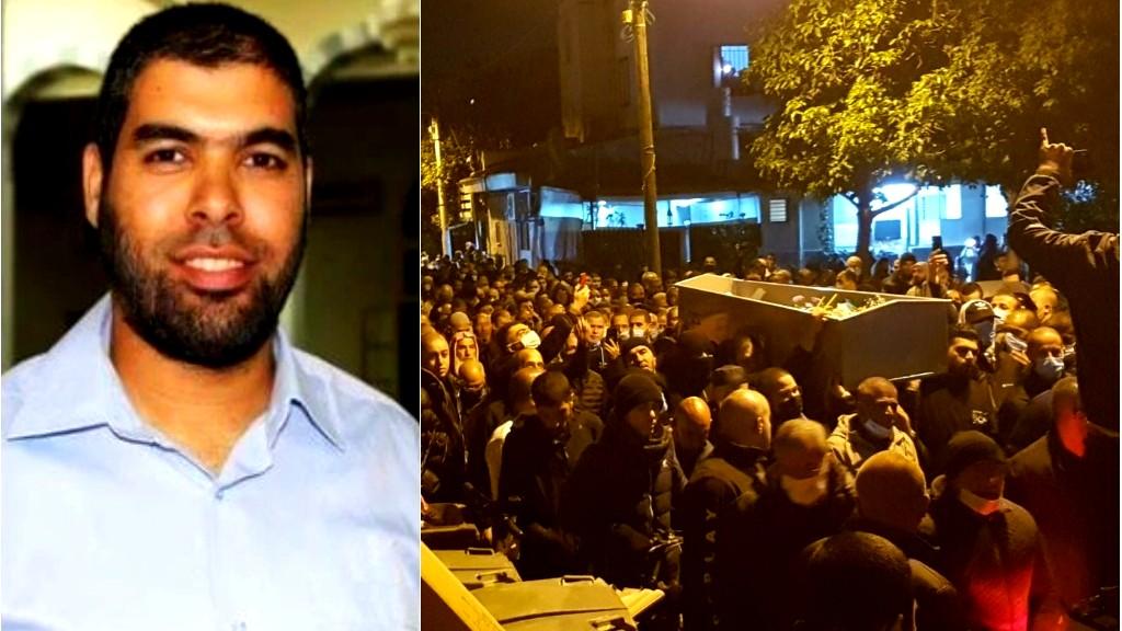يافا: تشييع جثمان المرحوم محمد أبو نجم