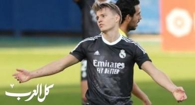 إنتقال أوديجارد من ريال مدريد إلى آرسنال
