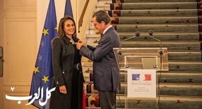 فرنسا تكرّم الممثلة التونسية هند صبري