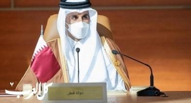 أمير قطر يخصص 360 مليون دولار لغزة
