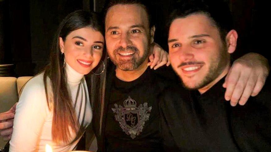 الحلاني يحتفل بعيد ميلاد ابنته ماريتا