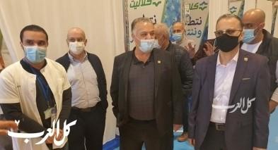 الناصرة: كلاليت يفتتح مركزا جديدا للتطعيم