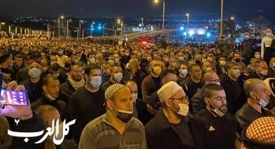 طمرة: الالاف يشاركون بتشييع جثمان الشاب احمد حجازي
