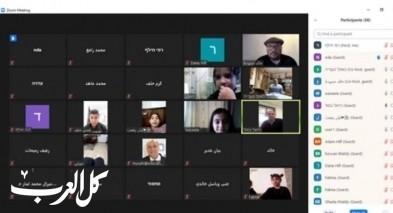 مدرسة عرب الحلف تنظم رحلة افتراضية