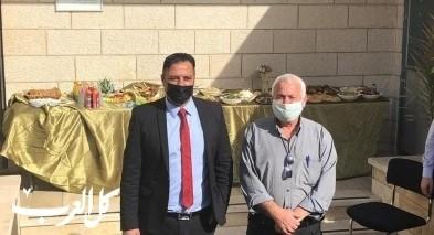 وزير الزراعة يزور بلدة ديرحنا