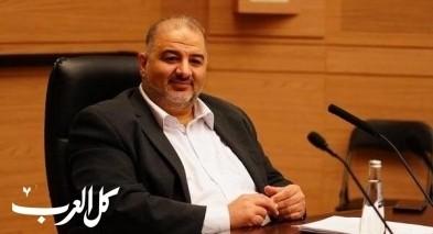 الدكتور منصور عباس: لم أصف الأسرى بالمخربين