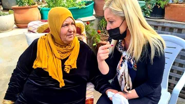 النائب روت فاسرمن تعزّي عائلة حجازي