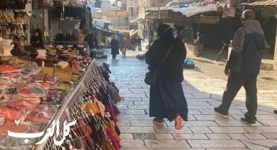 افتتاح اسواق القدس بعد اسابيع من الإغلاق