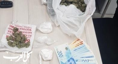 تل ابيب: اعتقال خمسة مشتبهين بشبهة حيازة مخدرات