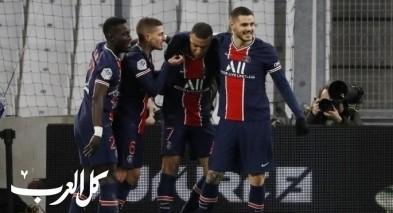أهداف باريس سان جيرمان الخيالية تحسم كلاسيكو فرنسا