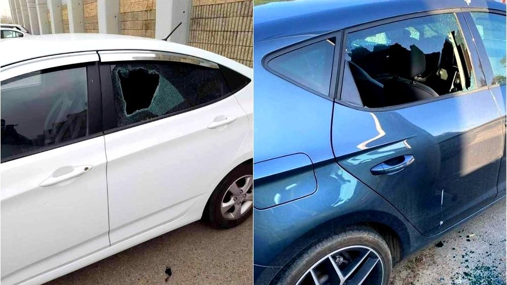 حيفا: تهشيم زجاج سيارتين لطبيبين فلسطينيين