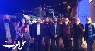 حلقة بيتية لحزب معا في حيفا