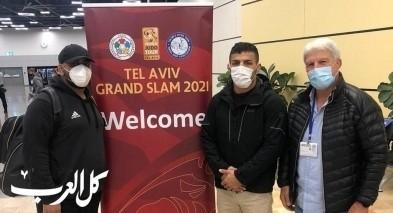 اللاعب الإيراني سعيد مولاي يصل إسرائيل