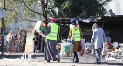 الإغاثة: مساعدات فاعل خير تصل الضفة