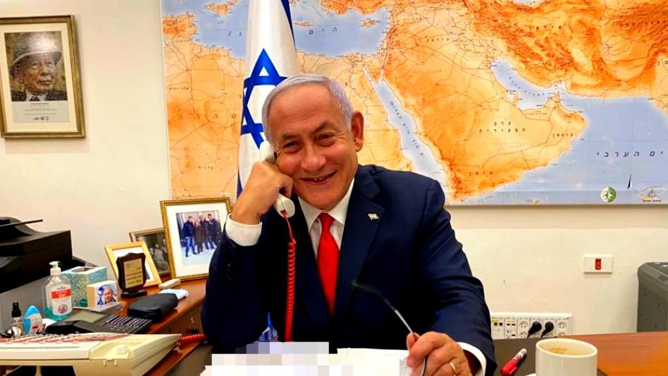 الرئيس الامريكي بايدن يتحدث مع نتنياهو لأول مرة