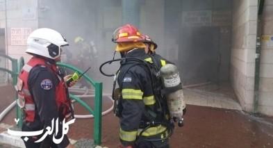 الخضيرة: اندلاع حريق في دار للمسنين