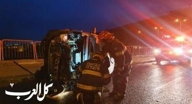 تخليص عالق جراء حادث طرق في حيفا