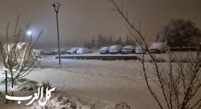 العاصفة تضرب البلاد - امطار وثلوج في معظم المناطق