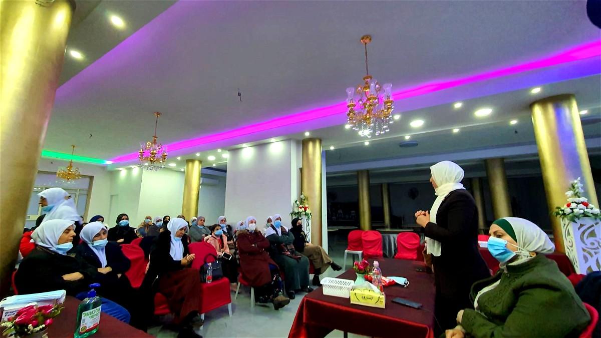 نساء كفر قاسم على العهد مع القائمة العربية الموحدة