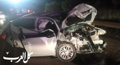 اصابة 5 اشخاص بجراح متفاوتى بحادث طرق قرب الرامة