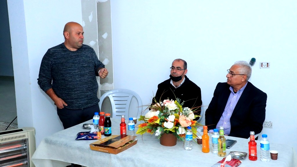حلقة بيتية داعمة للموحدة في كفركنا