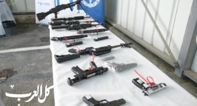 اتهام تسعة مشتبهين فلسطينيين بتجارة الاسلحة