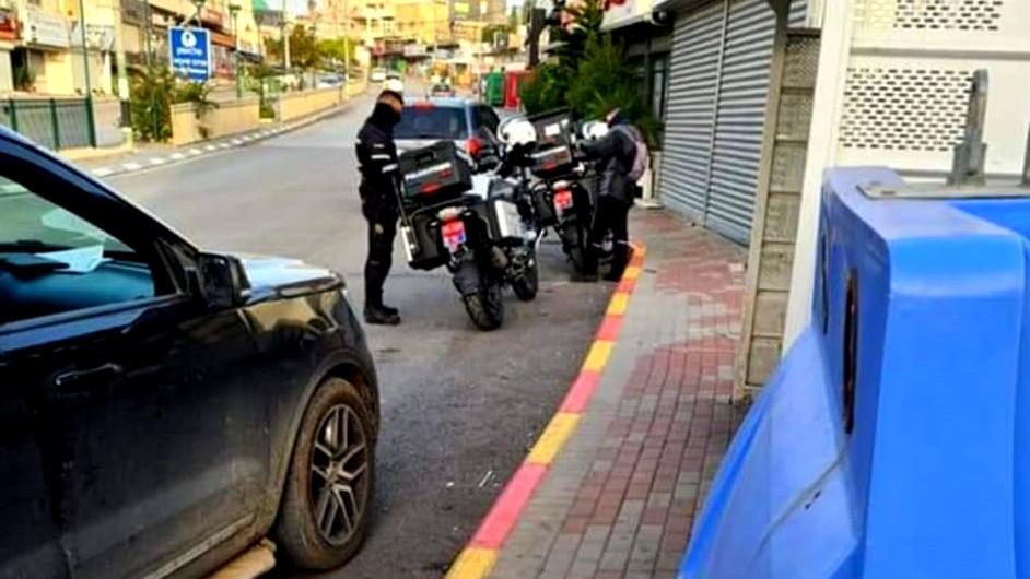 حملة للشرطة في باقة الغربية وتذمر من المواطنين