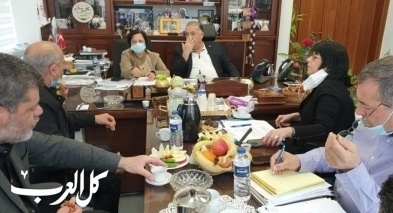 بلدية الناصرة: جلسة حول التربية والتعليم