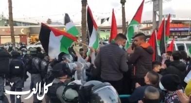 عرعرة: مظاهرة احتجاجية ضد الجريمة