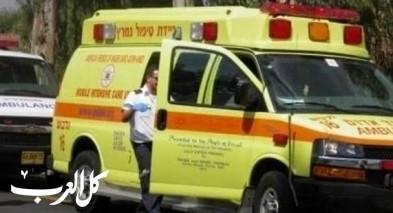 مجيدو: اصابة رجل (40 عامًا) اثر حادث طرق