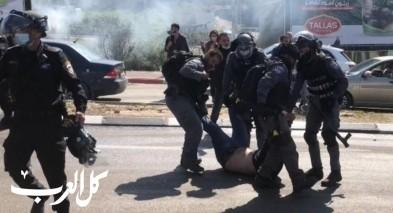 أم الفحم: تجميد عمل الشرطة الجماهيرية