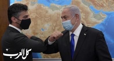 نتنياهو يستقبل السفير الإماراتي الأول لدى إسرائيل
