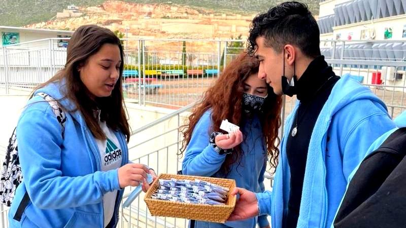 مجد الكروم: توزيع الهدايا على طلاب البجروت