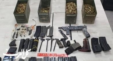 اعتقال مشتبهين بحيازة السلاح في تل السبع