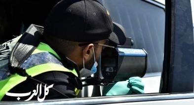 تحرير 3500 مخالفة خلال نهاية الاسبوع في البلاد