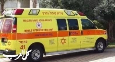 تل أبيب يافا| اصابة فتاة (23 عامًا) اثر حادث دهس