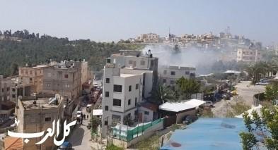 الناصرة: اندلاع النيران بمنزل في حي الكروم دون اصابات