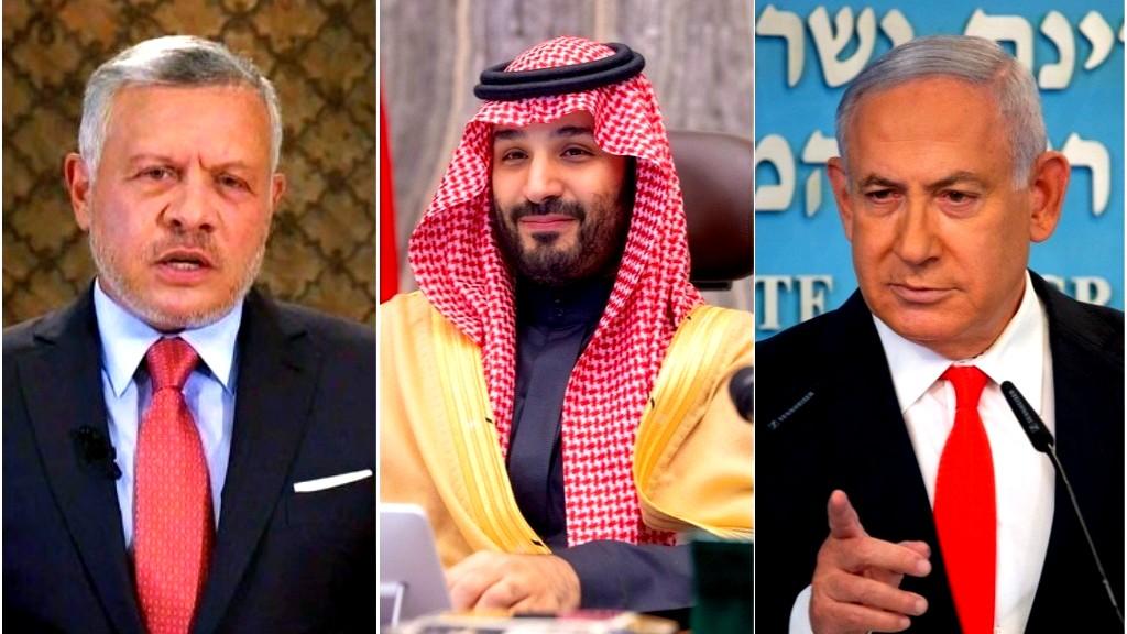 محادثات سريّة بين نتنياهو وبن سلمان
