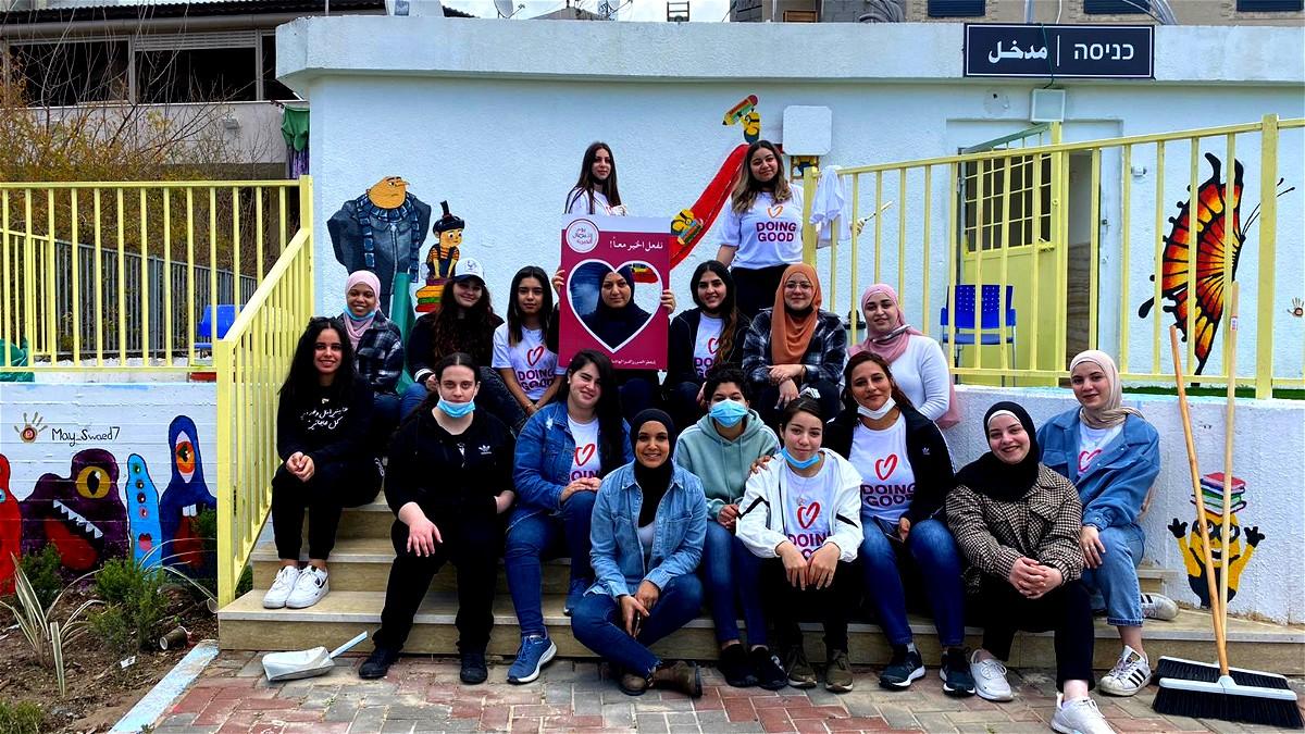 متطوعو أجيك في نشاطات يوم الأعمال الخيرية لذكرى وفاة سجود ياسين