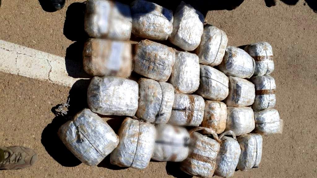 إحباط تهريب مخدرات من الحدود المصرية