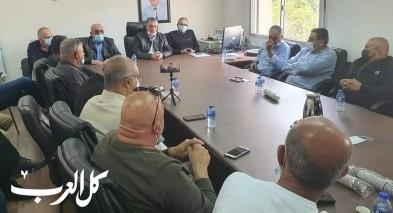 رئيس مجلس الرينة يدعو لانتخابات حضارية