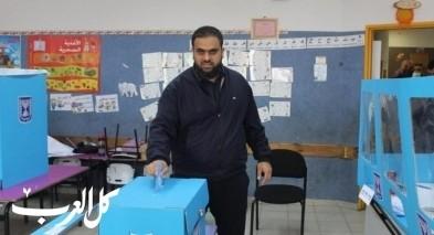 أم الفحم: مرشح الموحدة علاء جبارين يدلي بصوته