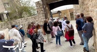 البعنة: استقبال مجموعات سياحية من مختلف أنحاء البلاد