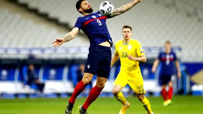 فوز باهت للبرتغال وفرنسا تتعادل مع اوكرانيا