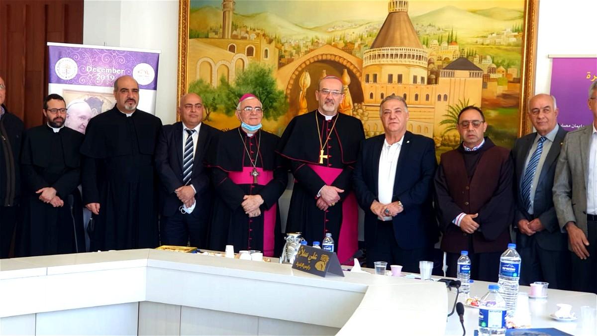 بلدية الناصرة تستقبل غبطة البطريرك اللاتيني بمناسبة عيد البشارة