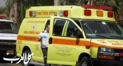 اصابة رجل اثر تحطم طائرة شراعية في بيت يناي